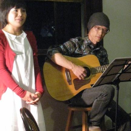 あかり.net代表・錦見綾さんのライブ