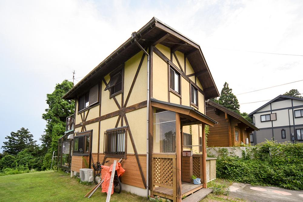 琵琶湖西岸の家