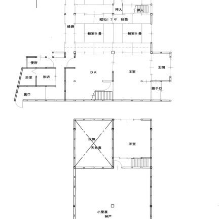 押切の家の地図