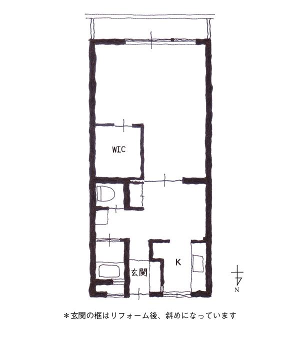 広路町レトロマンション#203図面